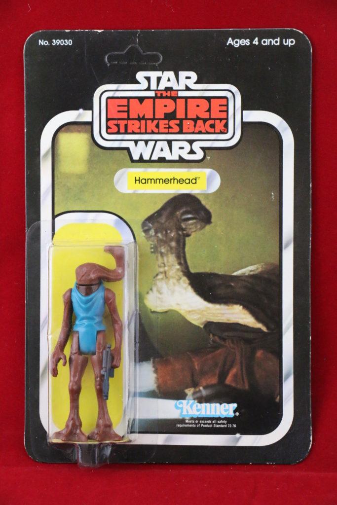 ESB Kenner Star Wars Hammerhead 31 Back B Front
