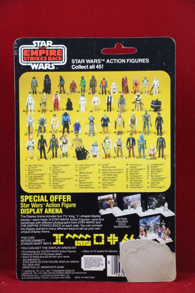 ESB Kenner Star Wars Han Solo 45 Back A Back
