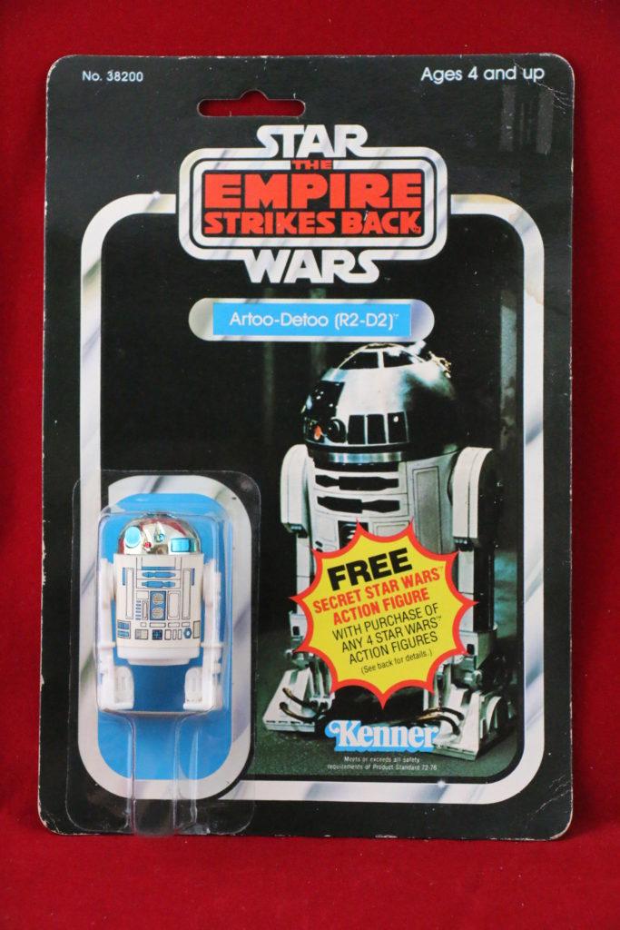 ESB Kenner Star Wars R2-D2 21 Back A Front