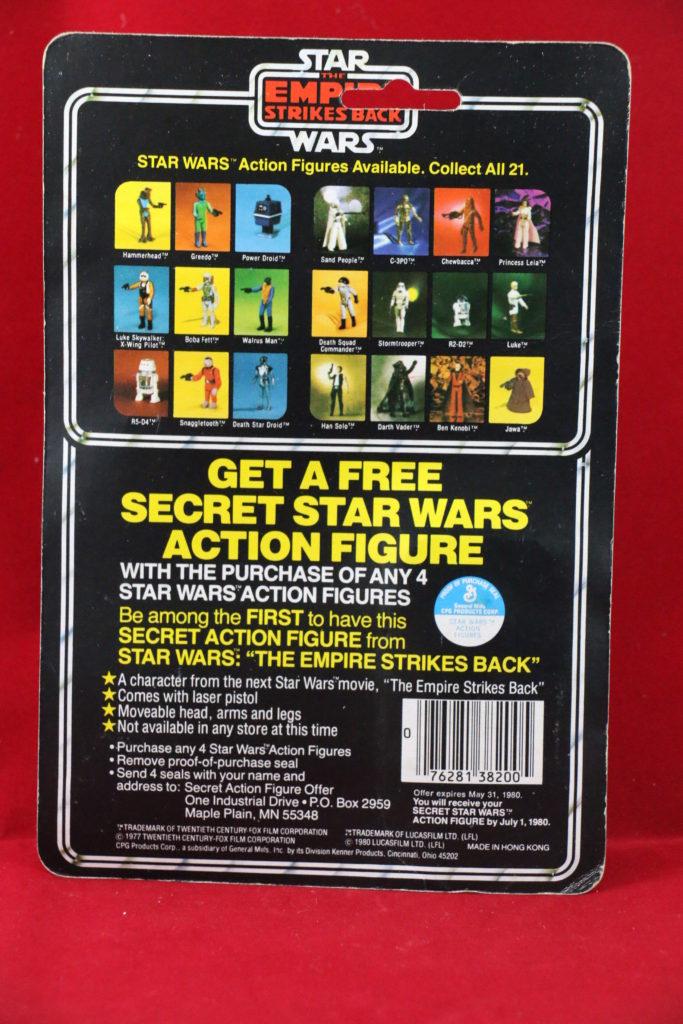 ESB Kenner Star Wars R2-D2 21 Back A Back
