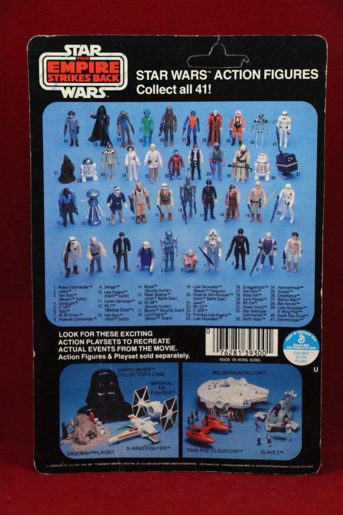 ESB Kenner Star Wars R2-D2 41 Back D Back