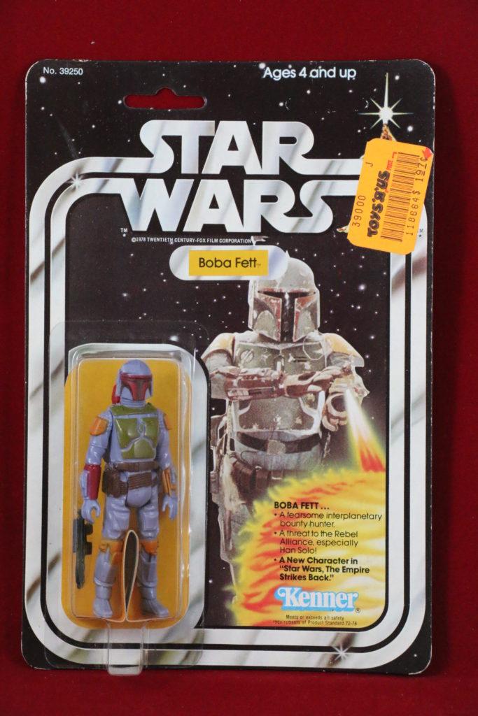 Kenner Star Wars Boba Fett 21 Back B Front