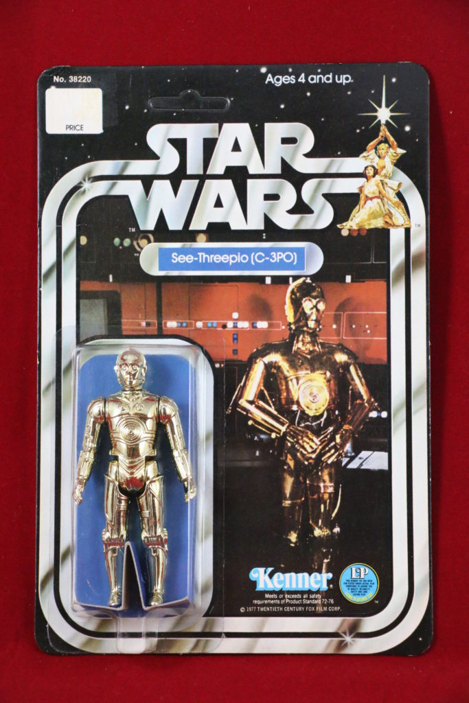 C-3PO 12-Back B Front