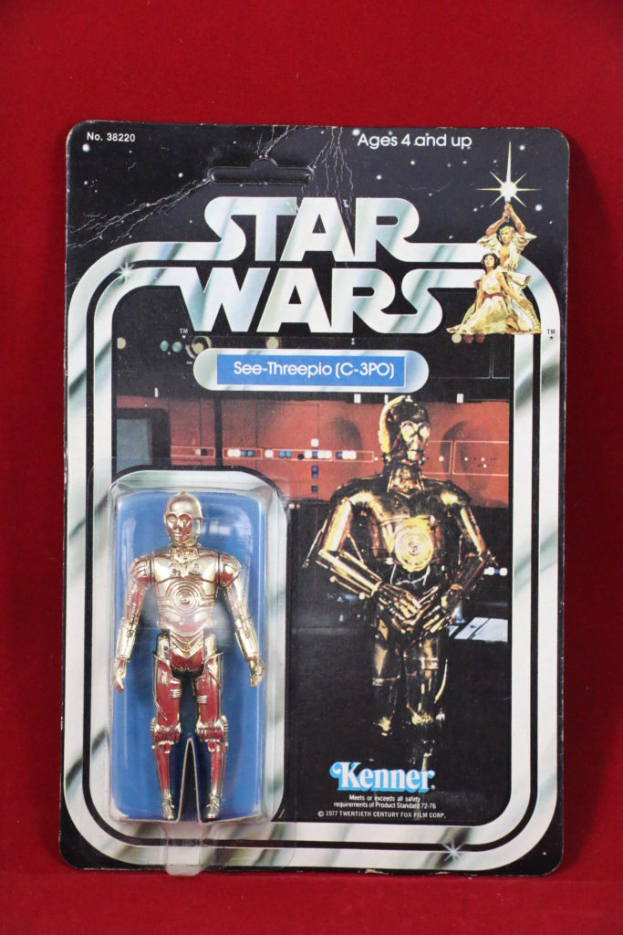 C-3PO 21-Back B Front