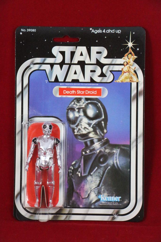 Kenner Star Wars Death Star Droid 21 Back B Front