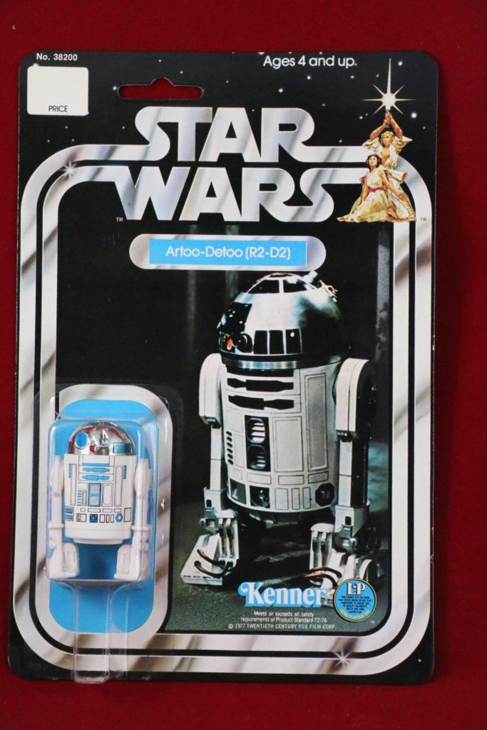Kenner Star Wars R2-D2 12 Back C Front