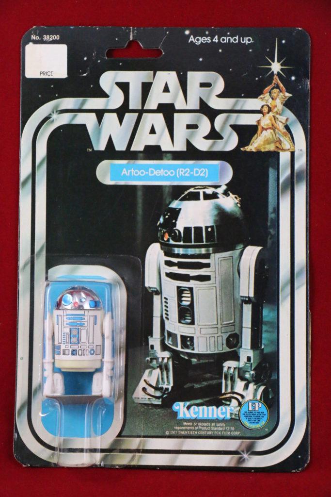 Kenner Star Wars R2-D2 12 Back D Front
