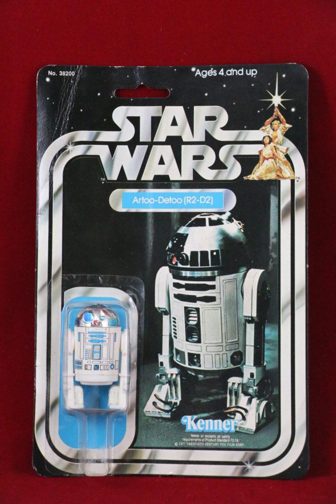 Kenner Star Wars R2-D2 21 Back A Front