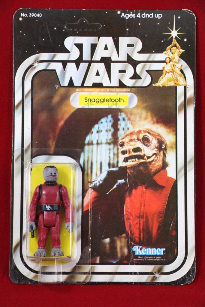 Kenner Star Wars Snaggletooth 21 Back B Front