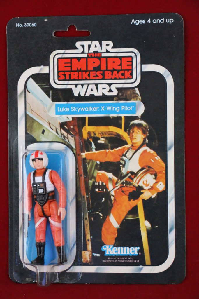 ESB Kenner Star Wars Luke Skywalker X-Wing 31 Back A Front