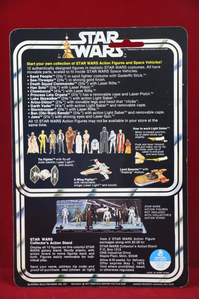 Kenner Star Wars Ben Obi Wan Kenobi 12 Back A Back