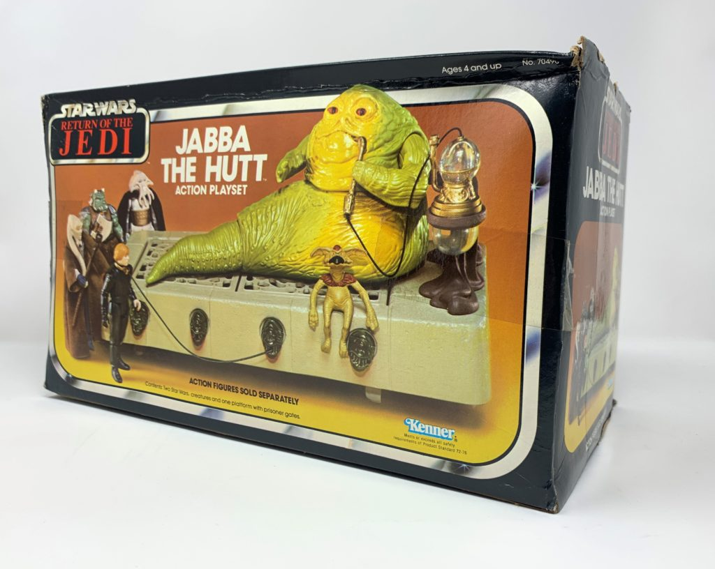 ROTJ Jabba The Hutt Playset Back