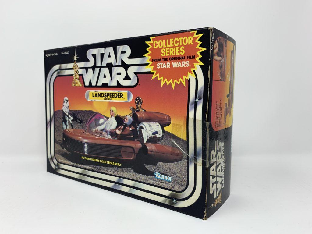 Star Wars Landspeeder Collector Series Back