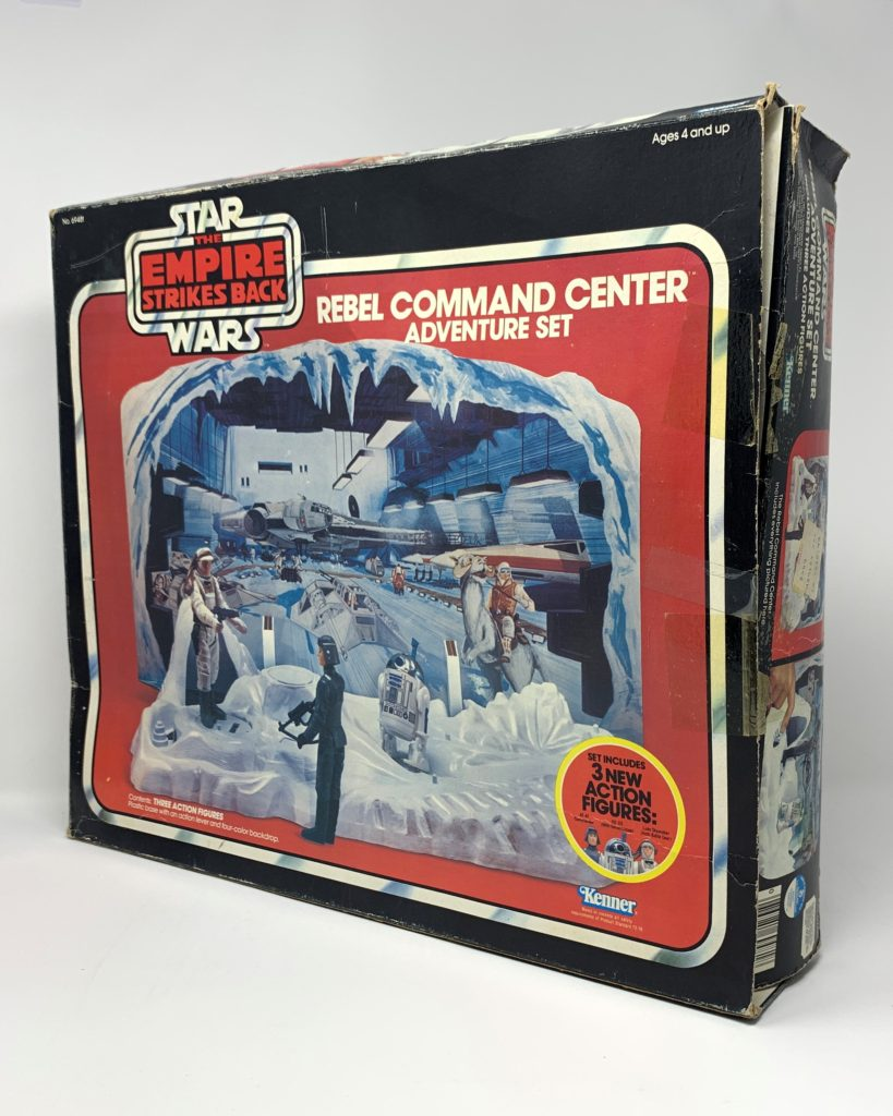 ESB Rebel Command Center Playset Back