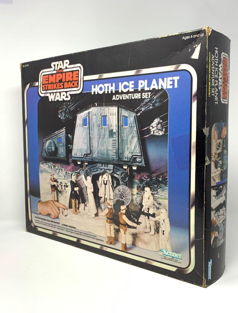 ESB Hoth Ice Planet Playset Back