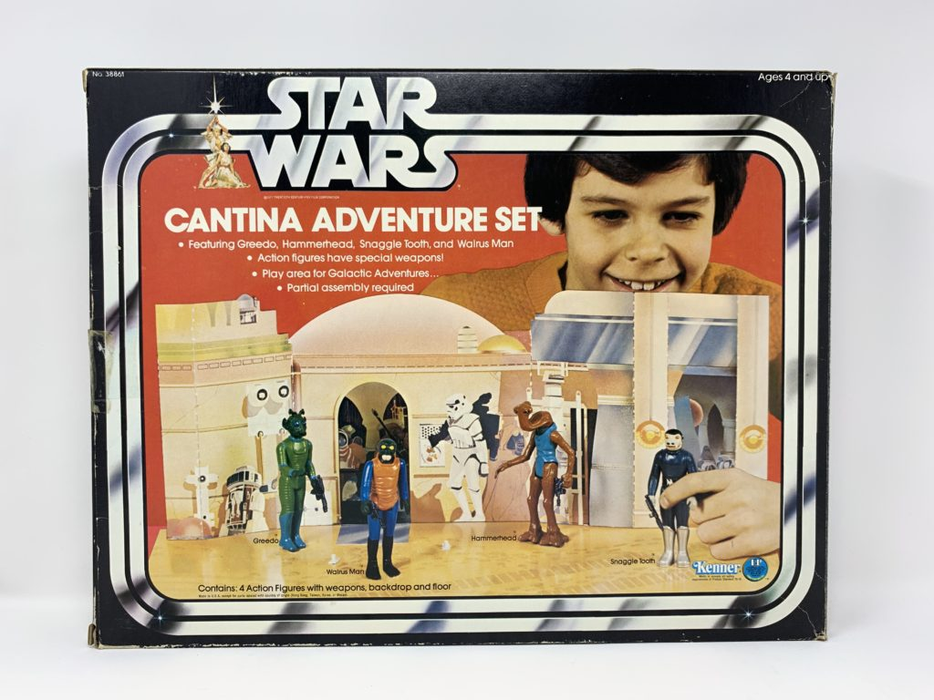 Star Wars Cantina Adventure Set Playset Front