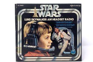Kenner Luke Skywalker AM Headset Radio